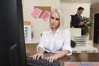 Cadence Lux Office Sex