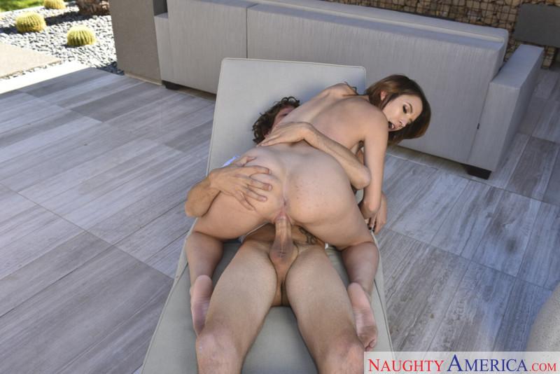 Holed cute brunette aidra fox enjoys an anal fuckfest 5